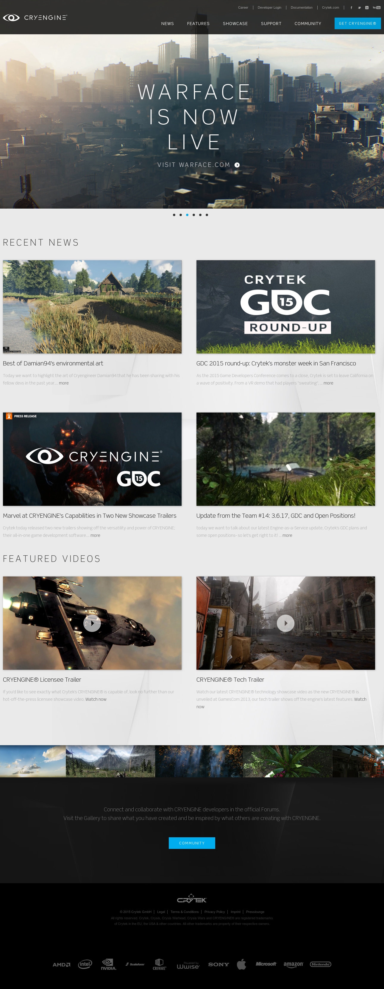 Cryengine Competitors, Revenue and Employees - Owler Company Profile