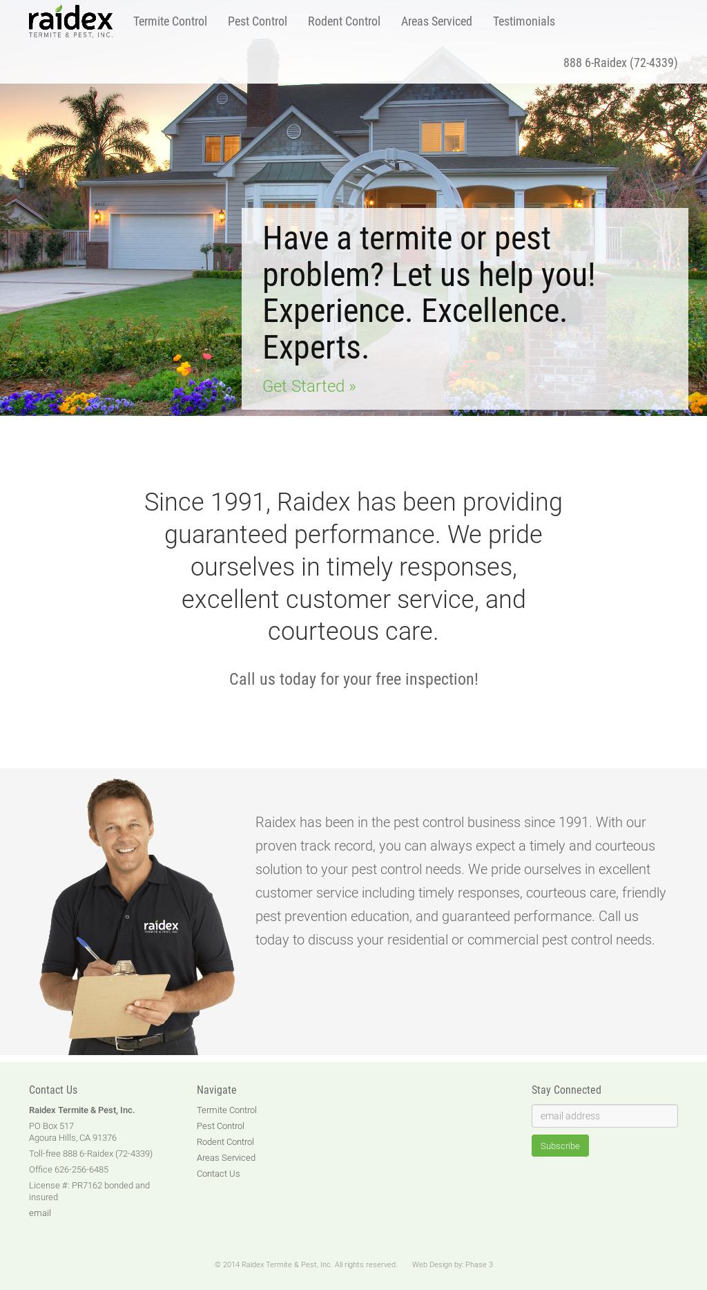 Raidex Termite & Pest Competitors, Revenue and Employees ...
