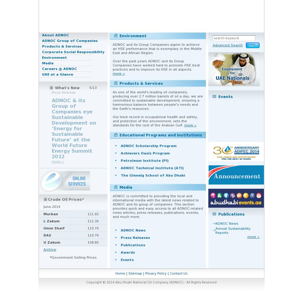 ADNOC Competitors, Revenue and Employees - Owler Company Profile