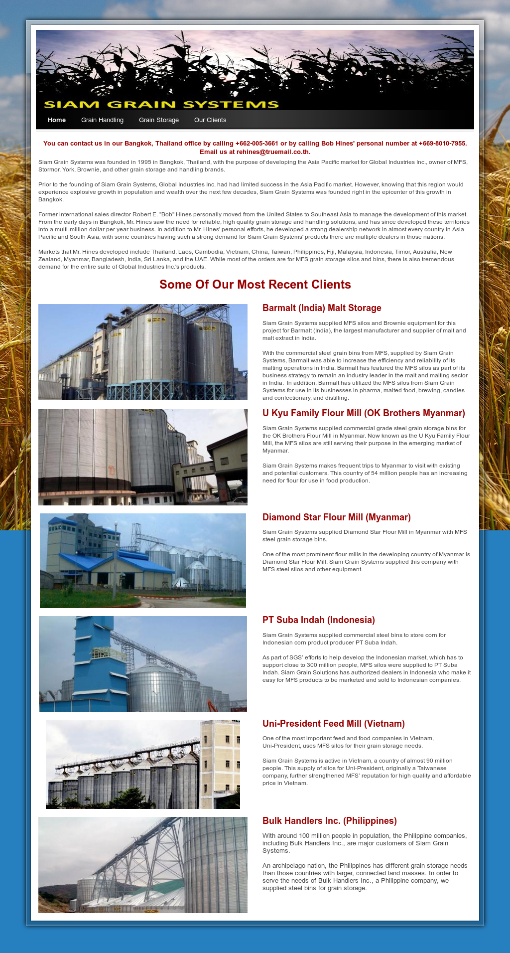 Siam Grain Systems Competitors, Revenue and Employees - Owler