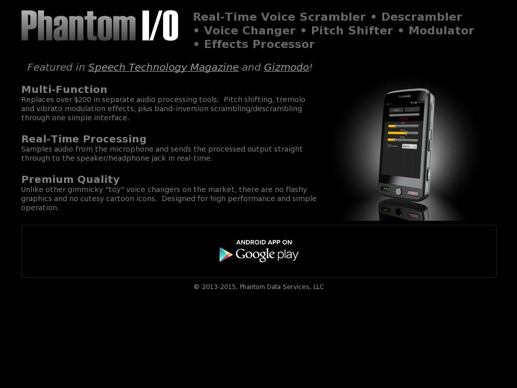 Voice Descrambler App | Reviewmotors co