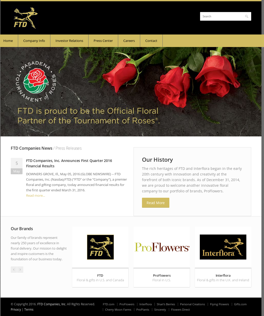 FTD Companies Competitors, Revenue and Employees - Owler