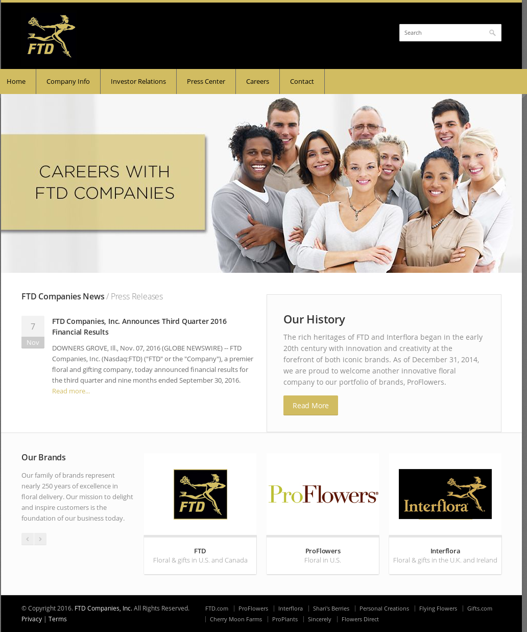 FTD Companies Competitors, Revenue and Employees - Owler Company Profile