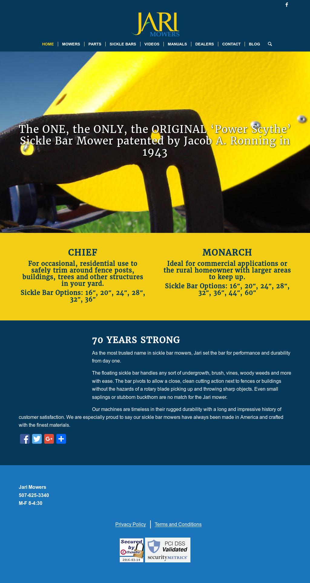 Jari Mowers Competitors, Revenue and Employees - Owler