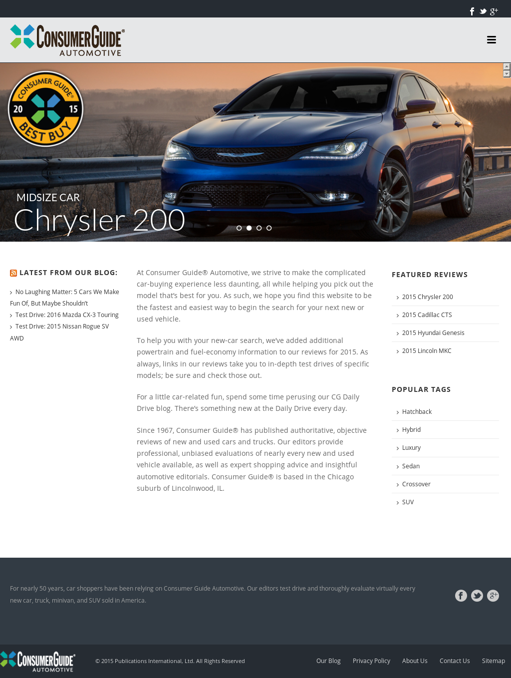 Consumer Guide Automotive Competitors, Revenue and Employees - Owler  Company Profile