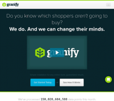 Granify website history