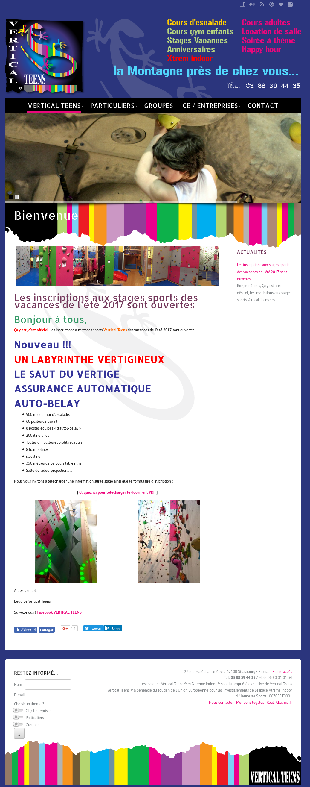 Business Plan Salle D Escalade vertical teens - strasbourg competitors, revenue and