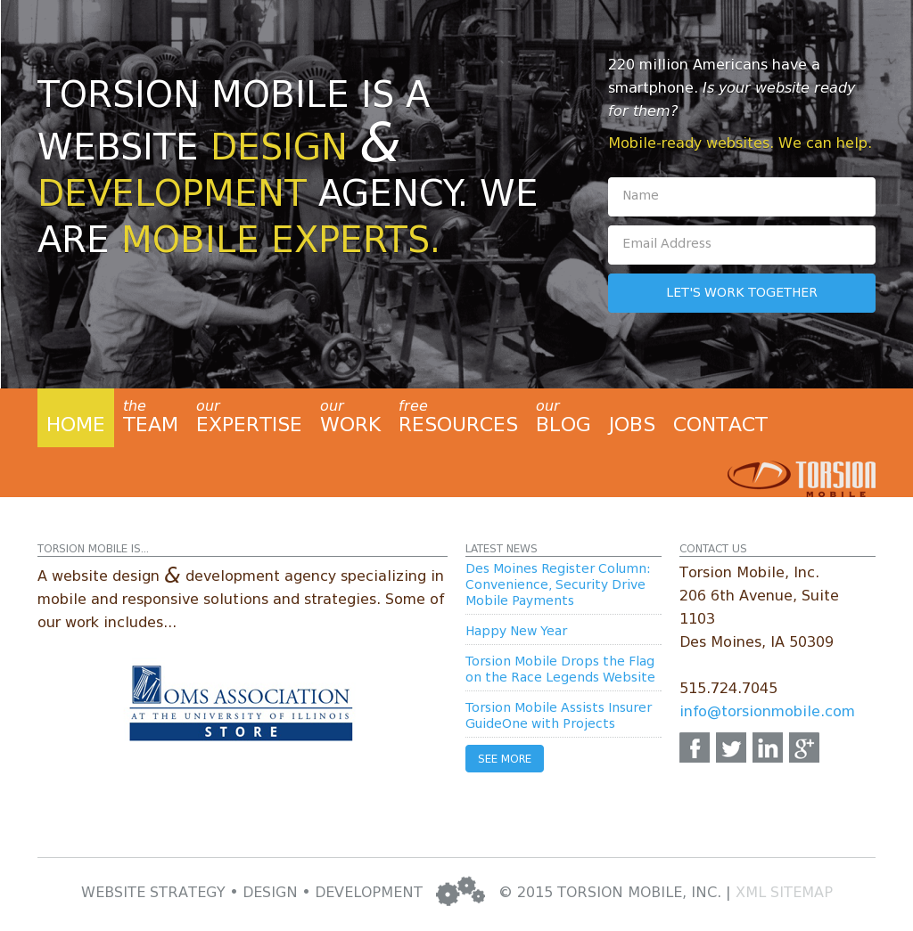 torsion mobile competitors revenue and employees owler company