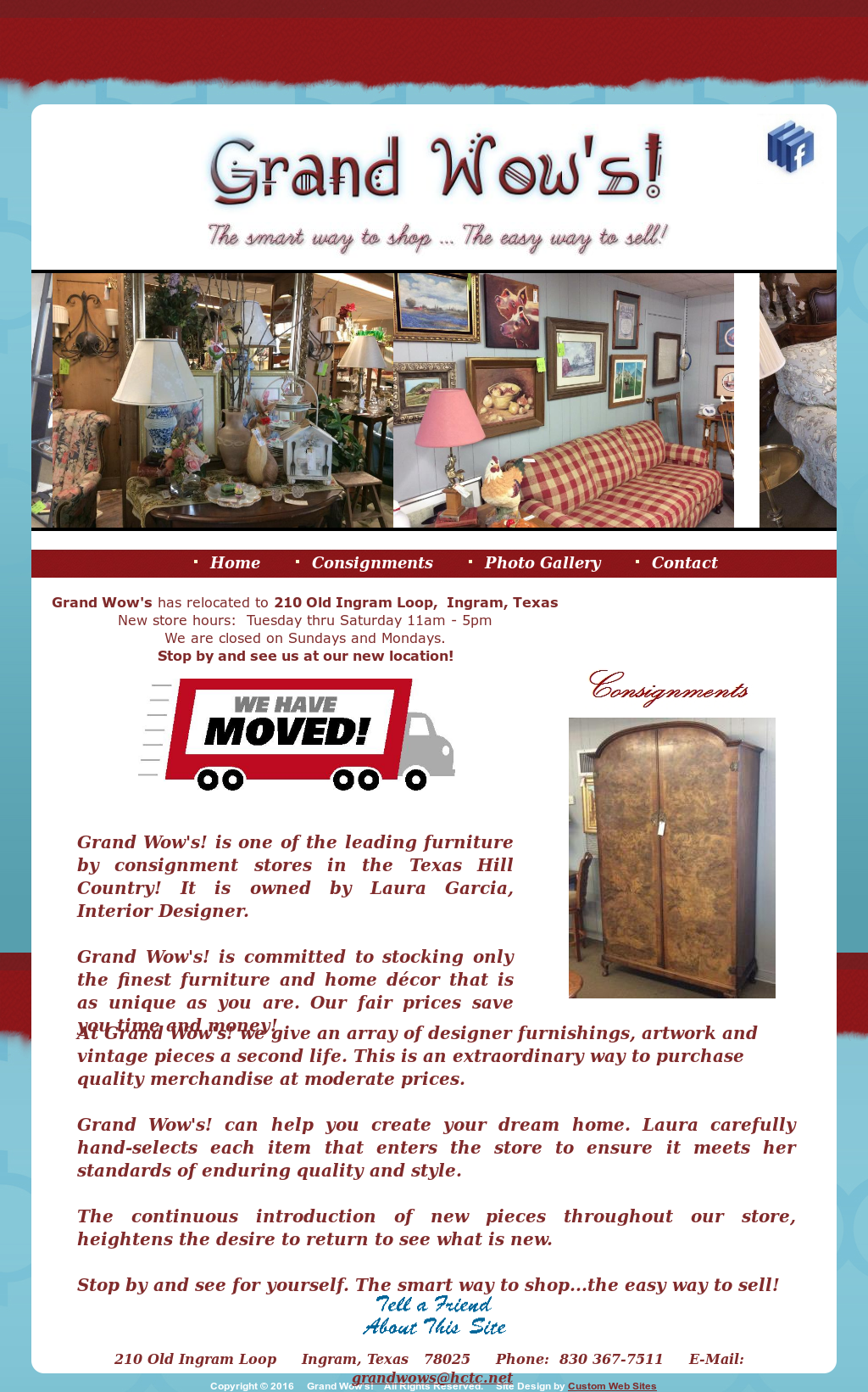 Grand Wows - Furniture, Etc  By Consignment Competitors