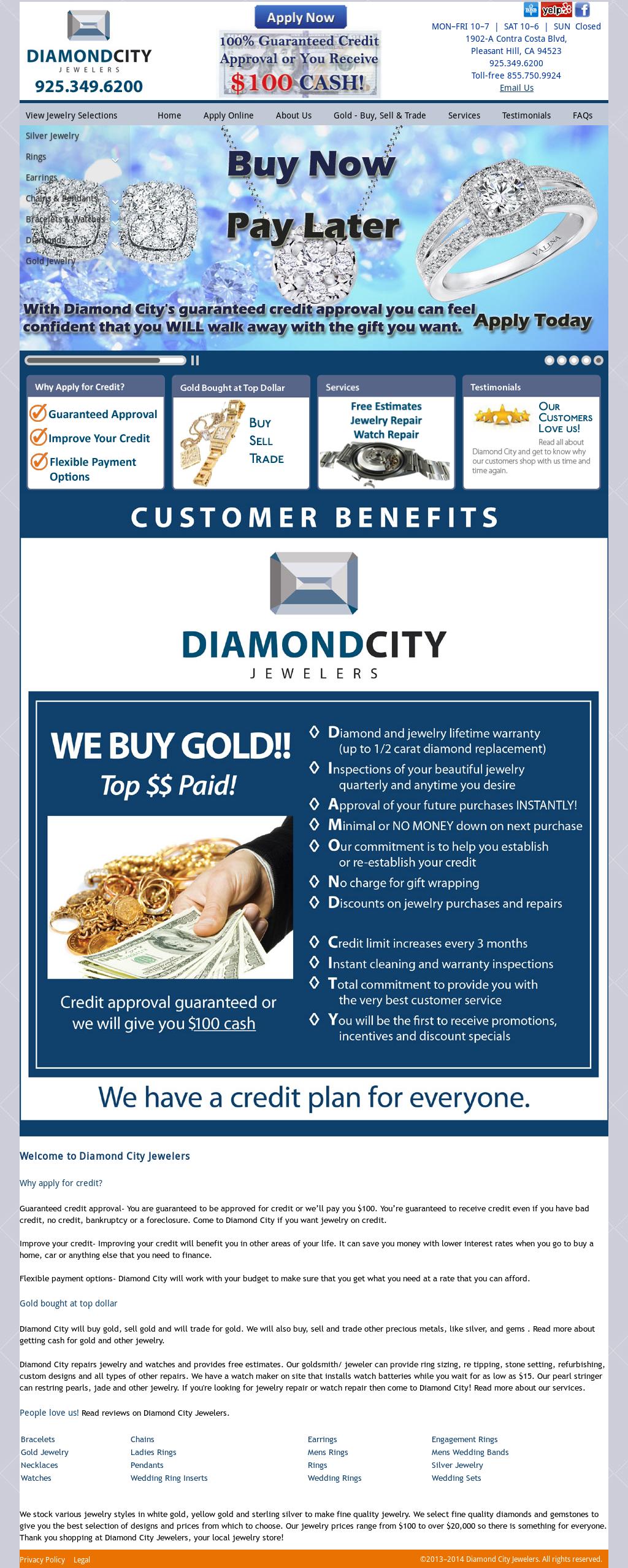 Diamond City Jewelers Competitors, Revenue and Employees