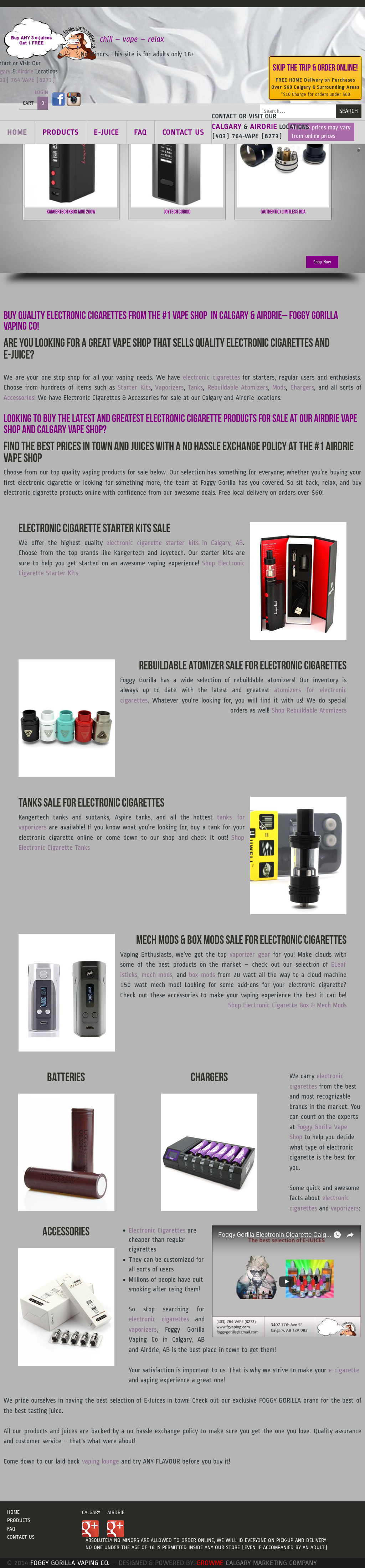 Foggy Gorilla Vaping Competitors, Revenue and Employees