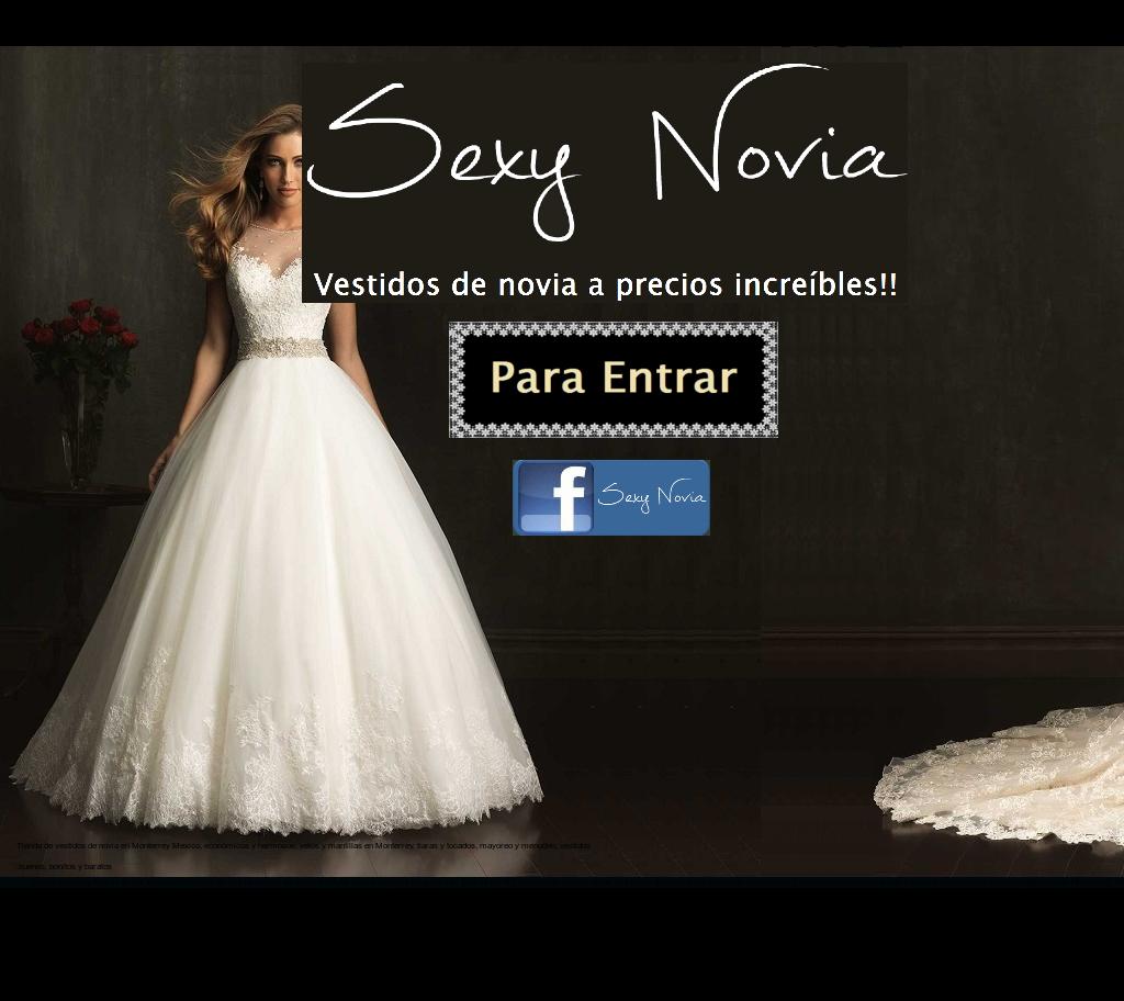 Vestidos novia baratos monterrey