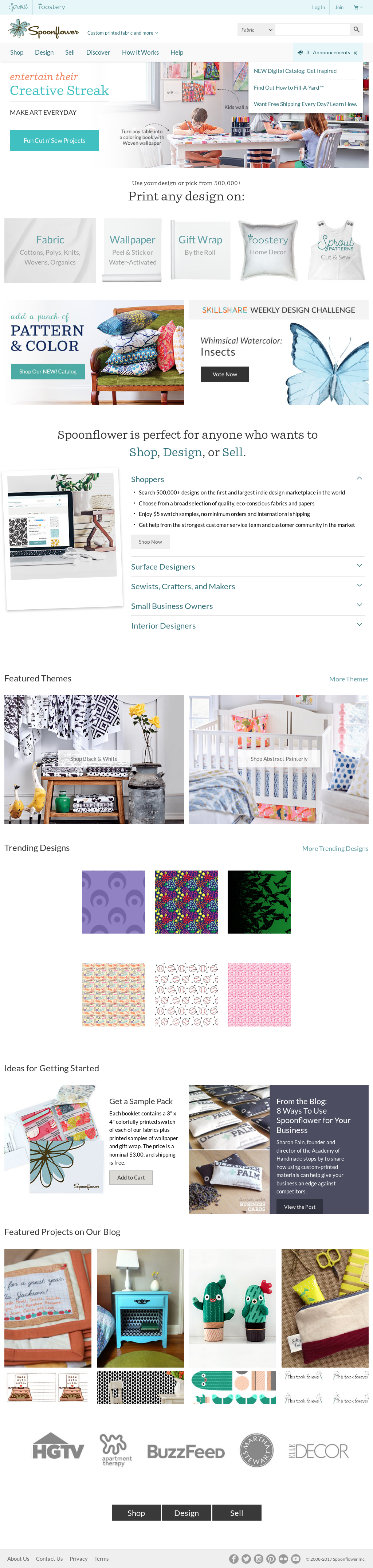 Spoonflower Competitors, Revenue and Employees - Owler