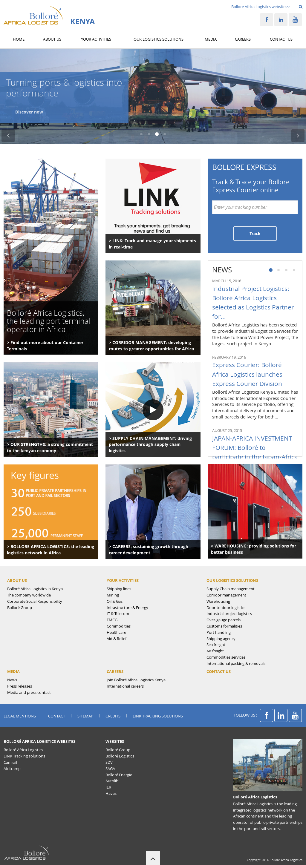 Bollore Africa Logistics Competitors, Revenue and Employees