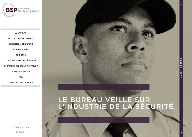 Bureau dela securite privee: entretien avec le directeur général du