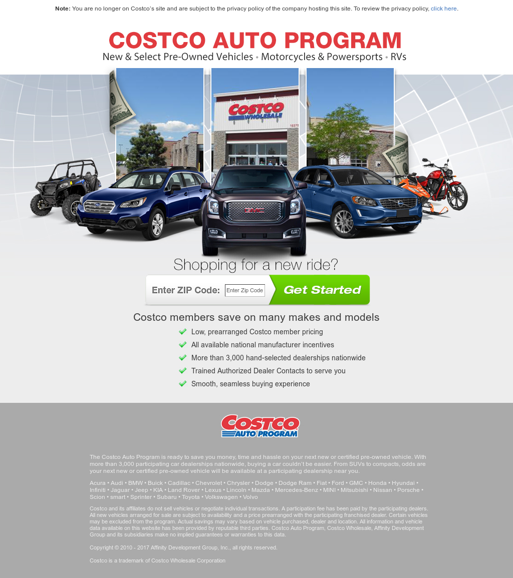 Costco Auto Program >> Costco Auto Program Competitors Revenue And Employees