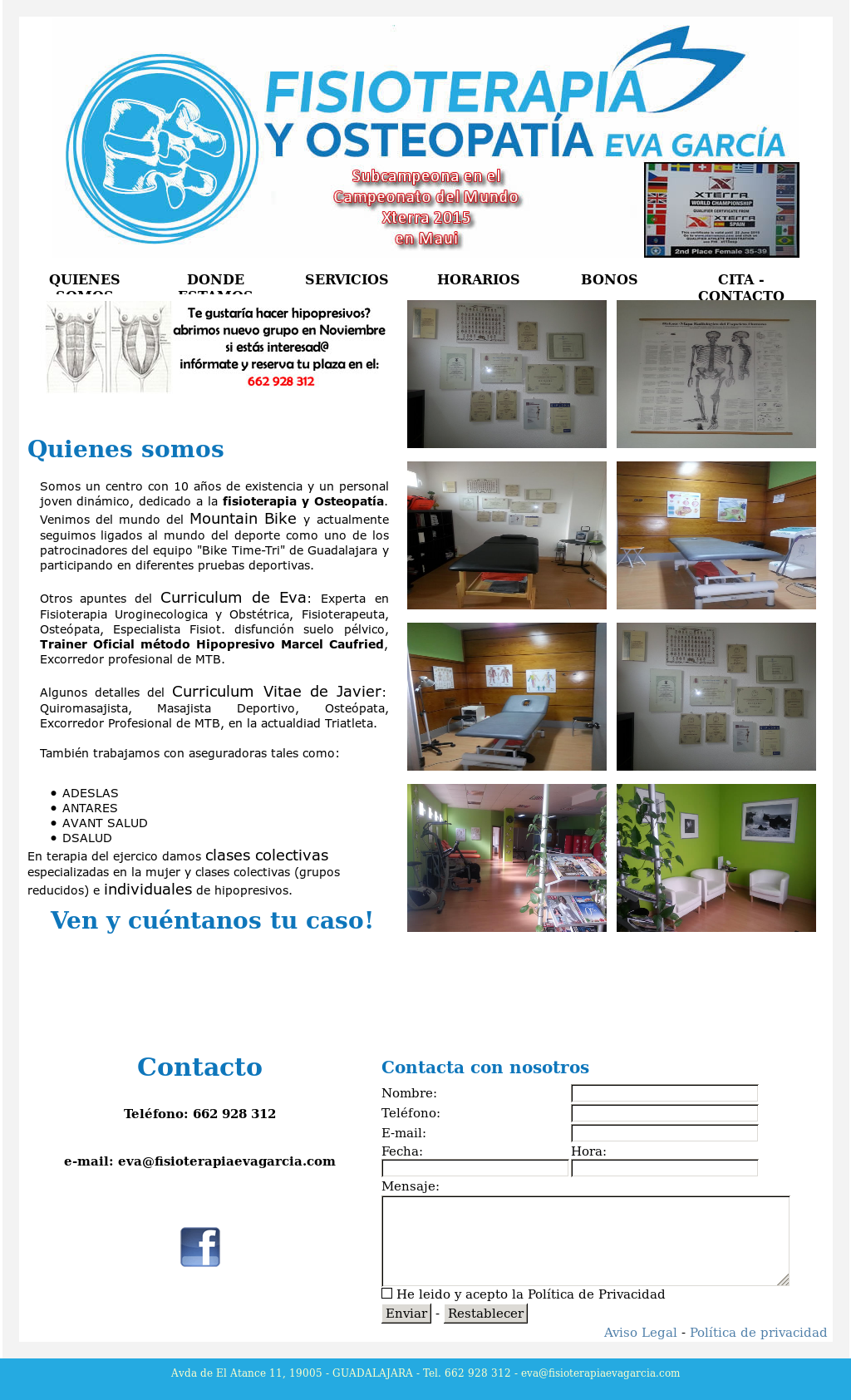 Fisioterapia Y Osteopatia Eva Garcia Competitors Revenue