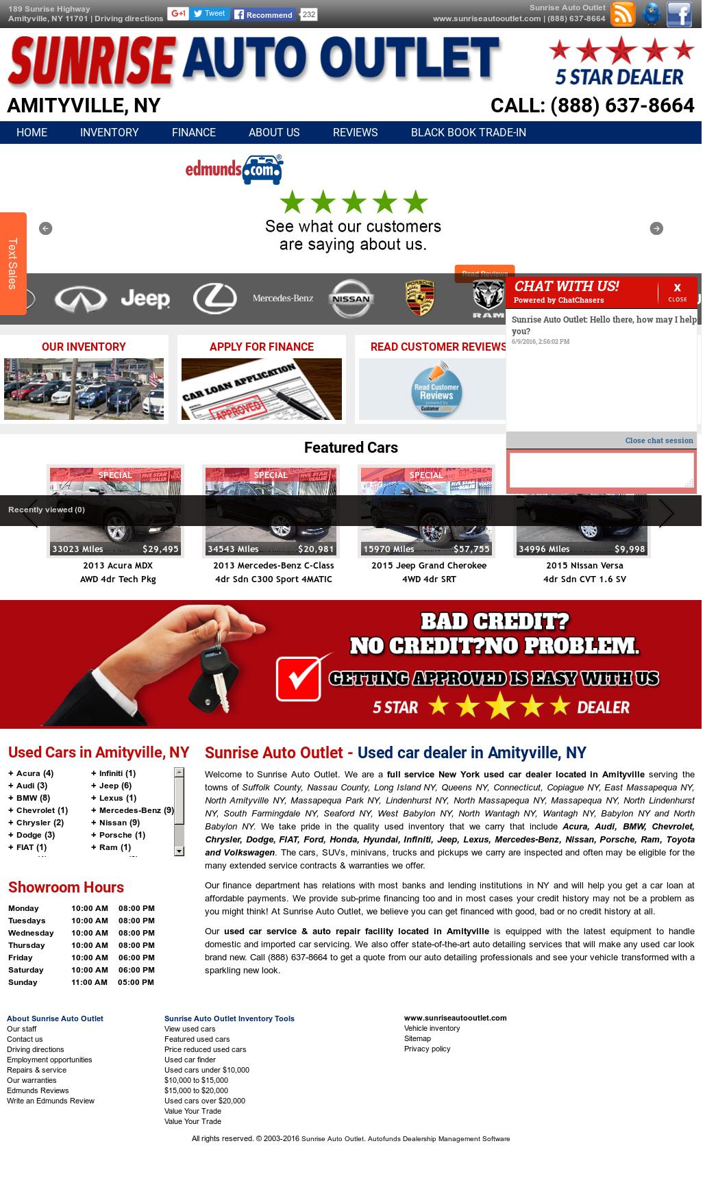 Sunrise Auto Outlet >> Sunrise Auto Outlet Competitors Revenue And Employees