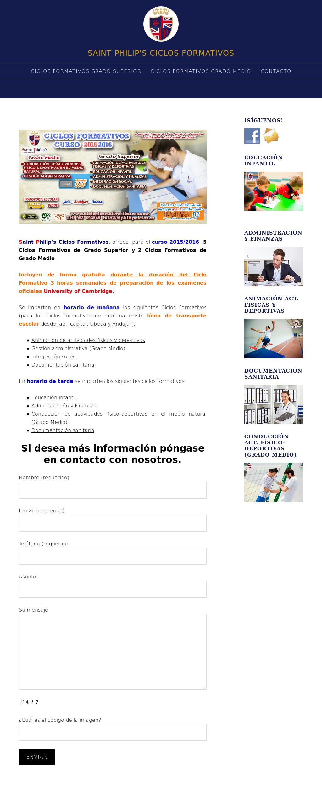 Ciclos Formativos Linares Competitors Revenue And Employees