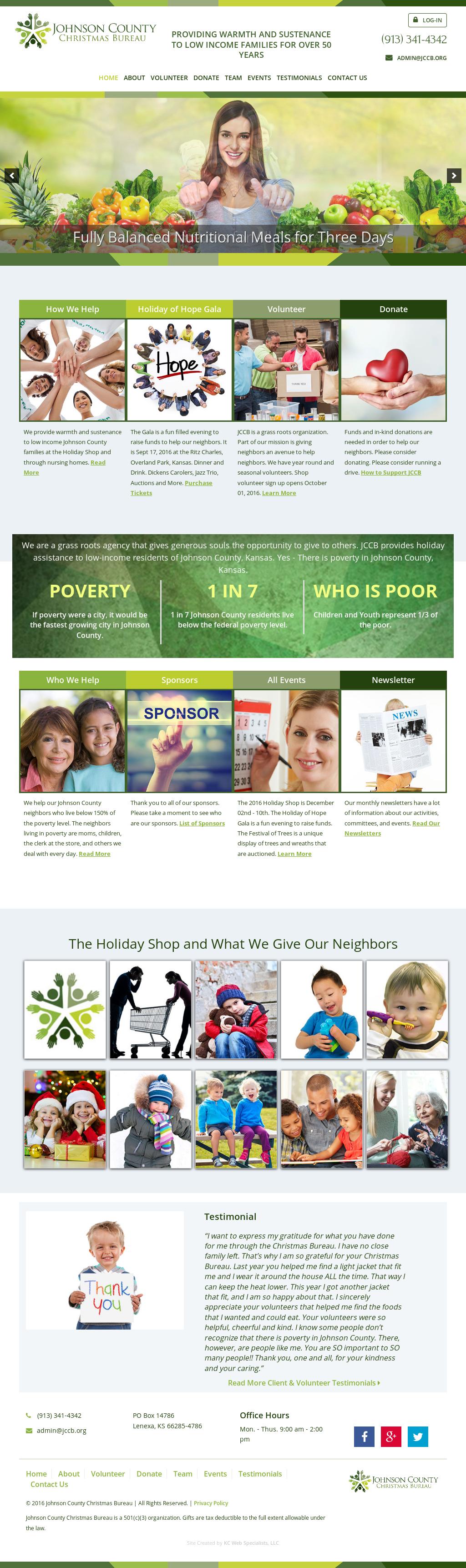 Johnson County Christmas Bureau Competitors, Revenue and Employees ...