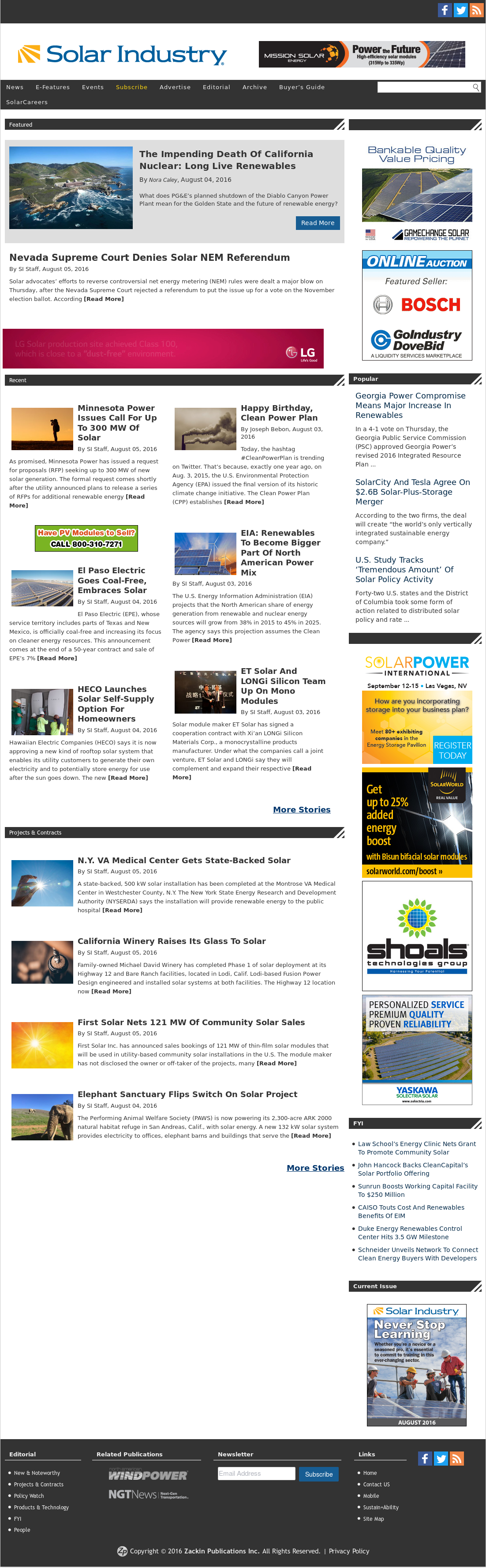 Solar Industry Magazine Competitors, Revenue and Employees - Owler