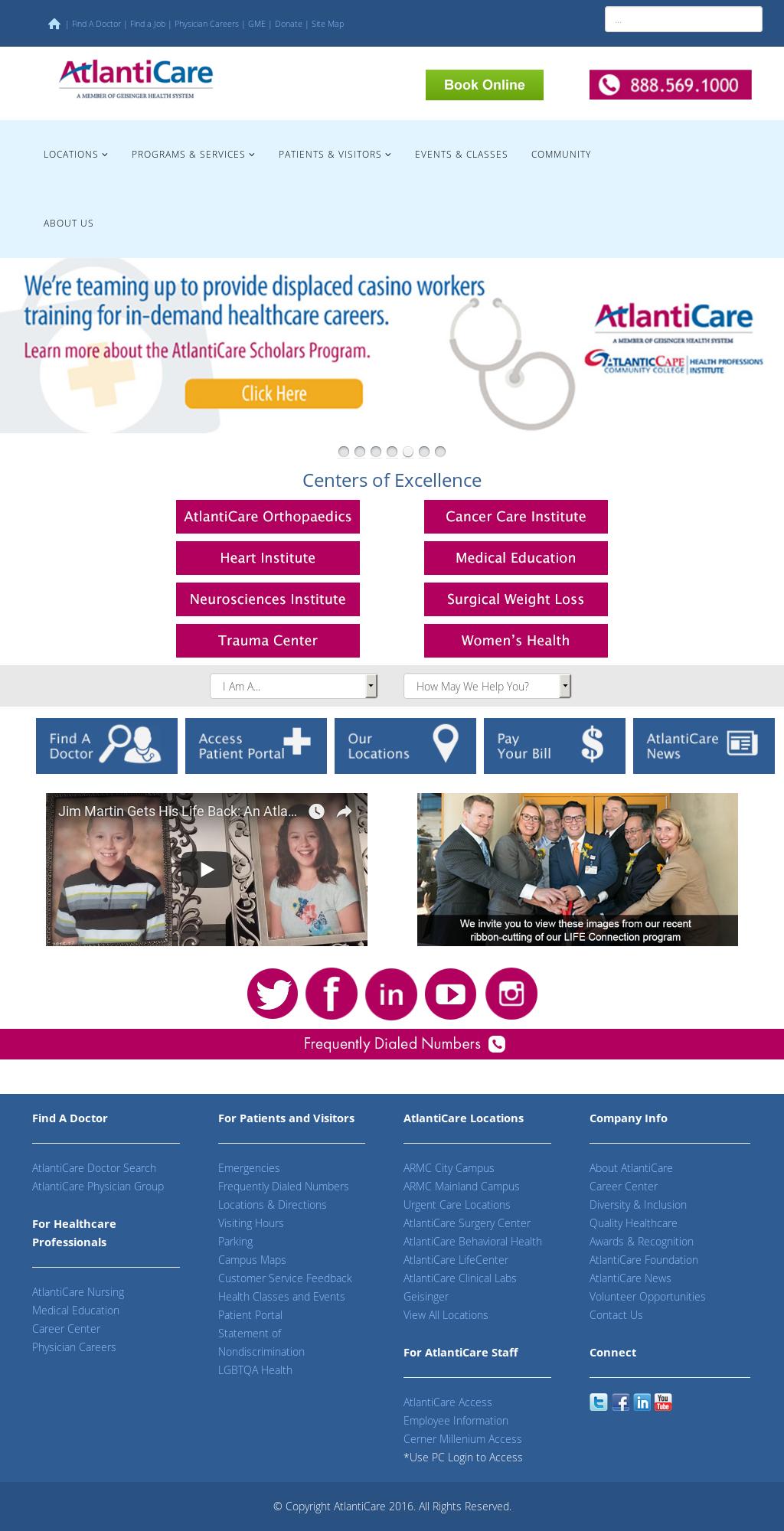 AtlantiCare Competitors, Revenue and Employees - Owler