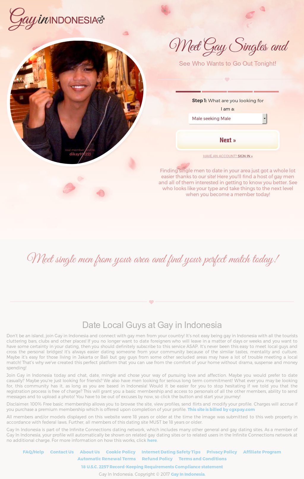 gay dating website indonesia
