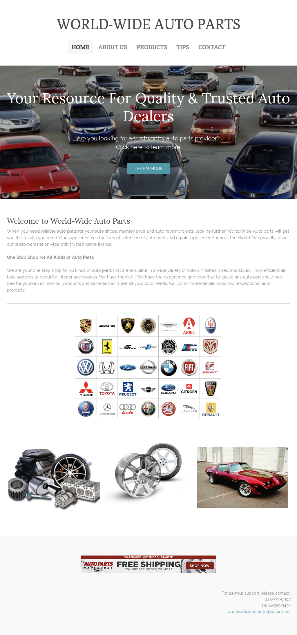 World-wide Auto Parts Competitors, Revenue and Employees - Owler ...