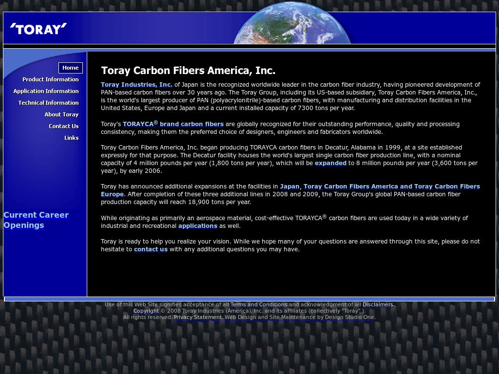 Toray Carbon Fibers America Competitors, Revenue and