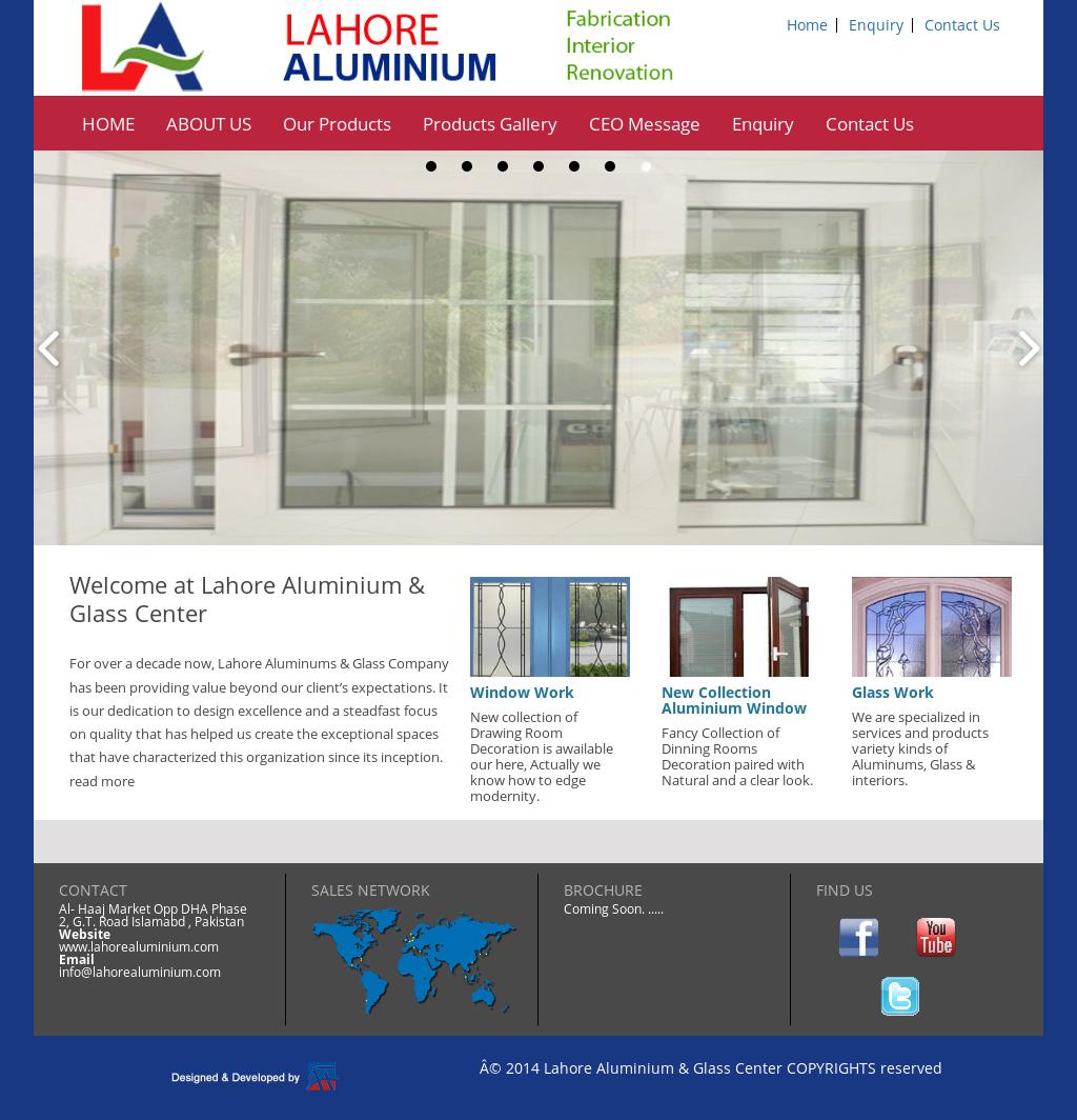 Lahore Aluminium & Glass Center Competitors, Revenue and