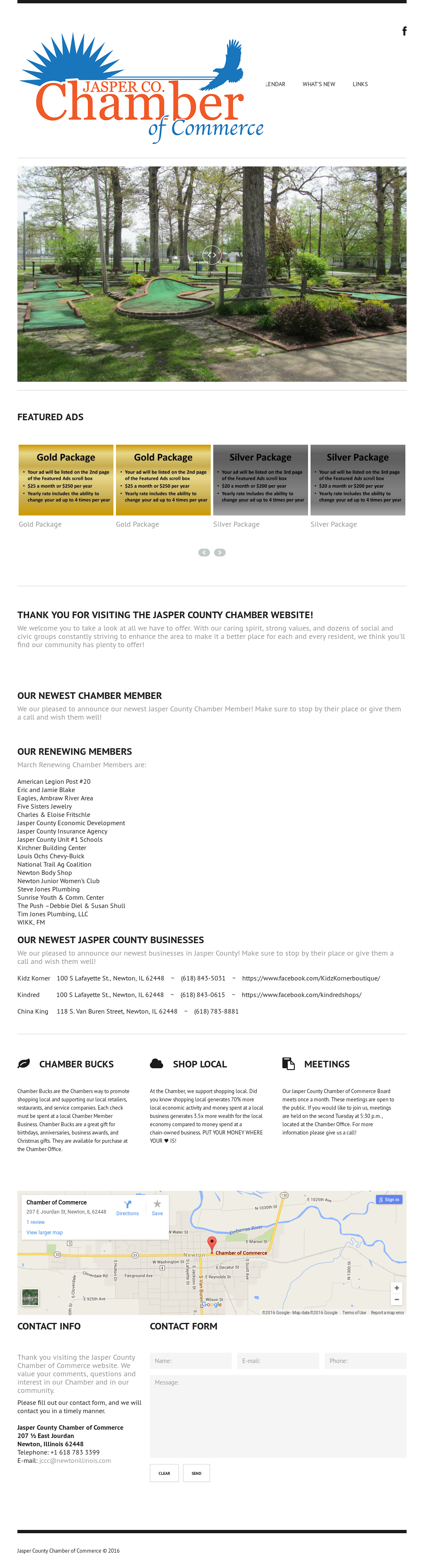 Jasper County Chamber Of Commerce Compeors Revenue And Employees Owler Company Profile