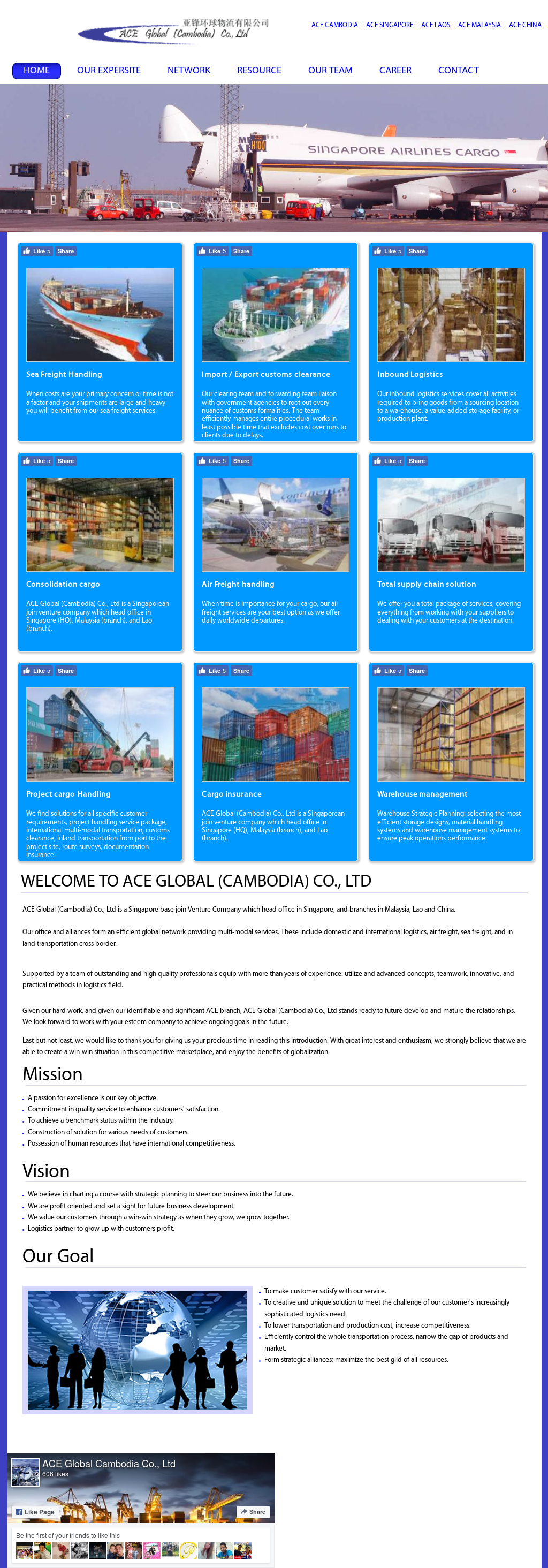 Ace Global Cambodia Competitors, Revenue and Employees