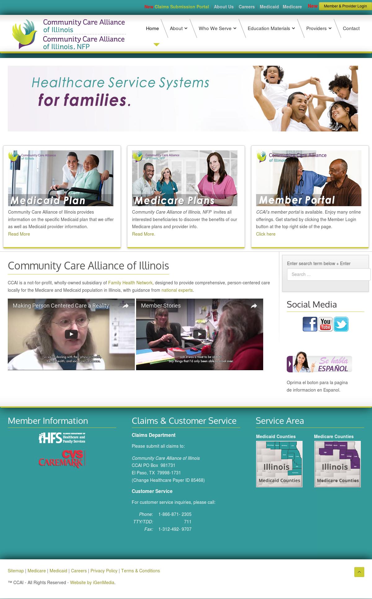 Community Care Alliance Of Illinois Competitors, Revenue and