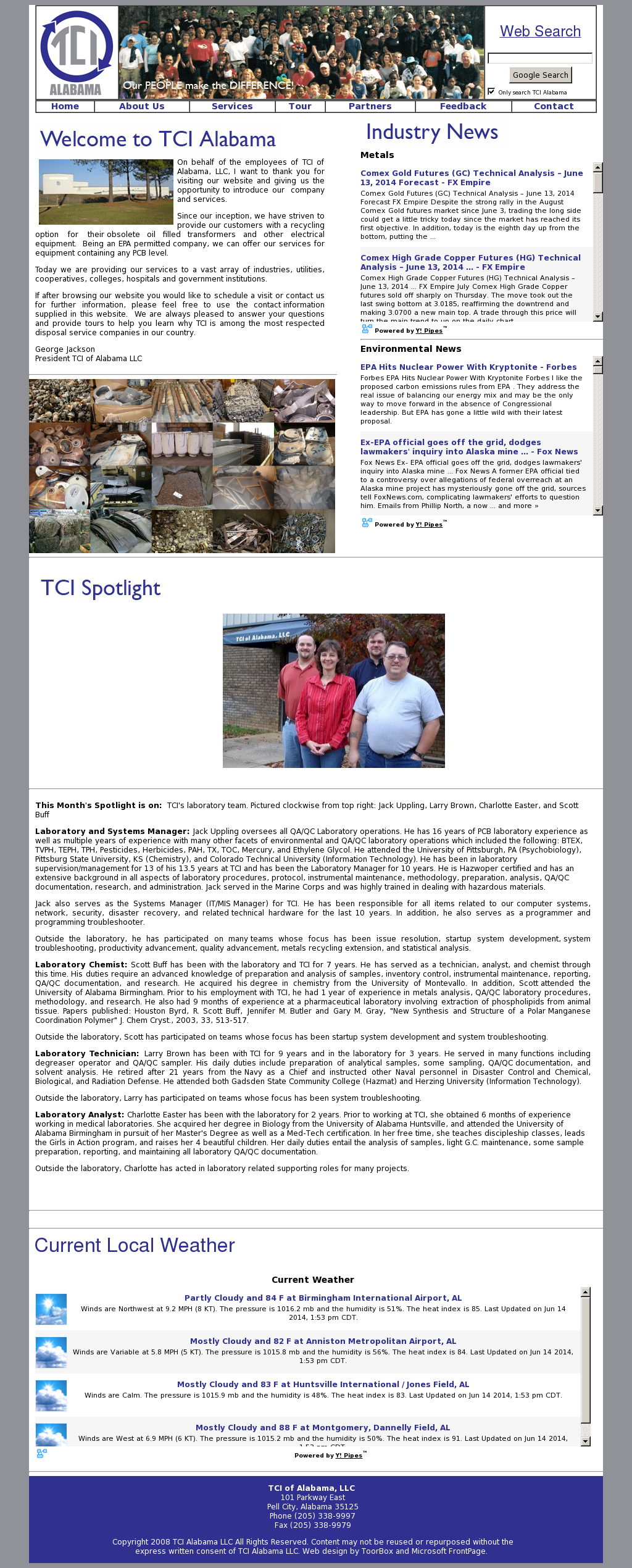 TCI of Alabama Competitors, Revenue and Employees - Owler