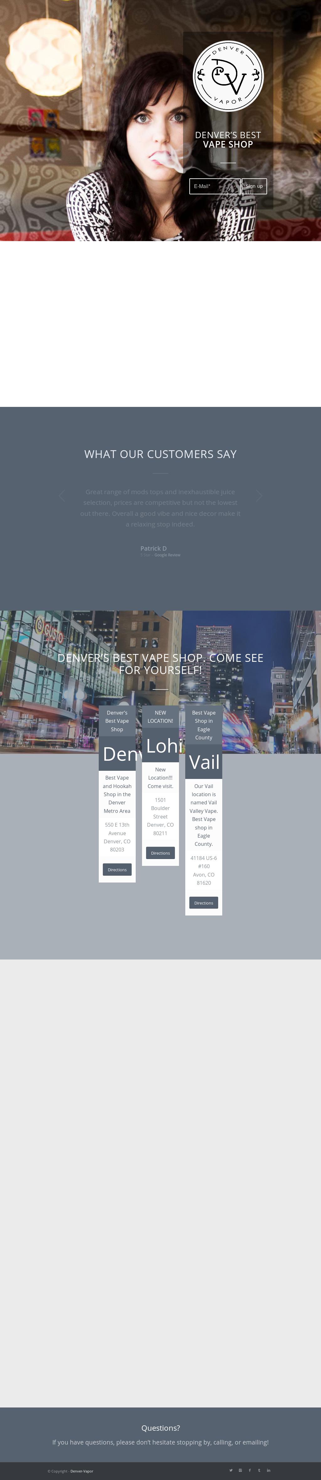 Denver Vapor Competitors, Revenue and Employees - Owler Company Profile