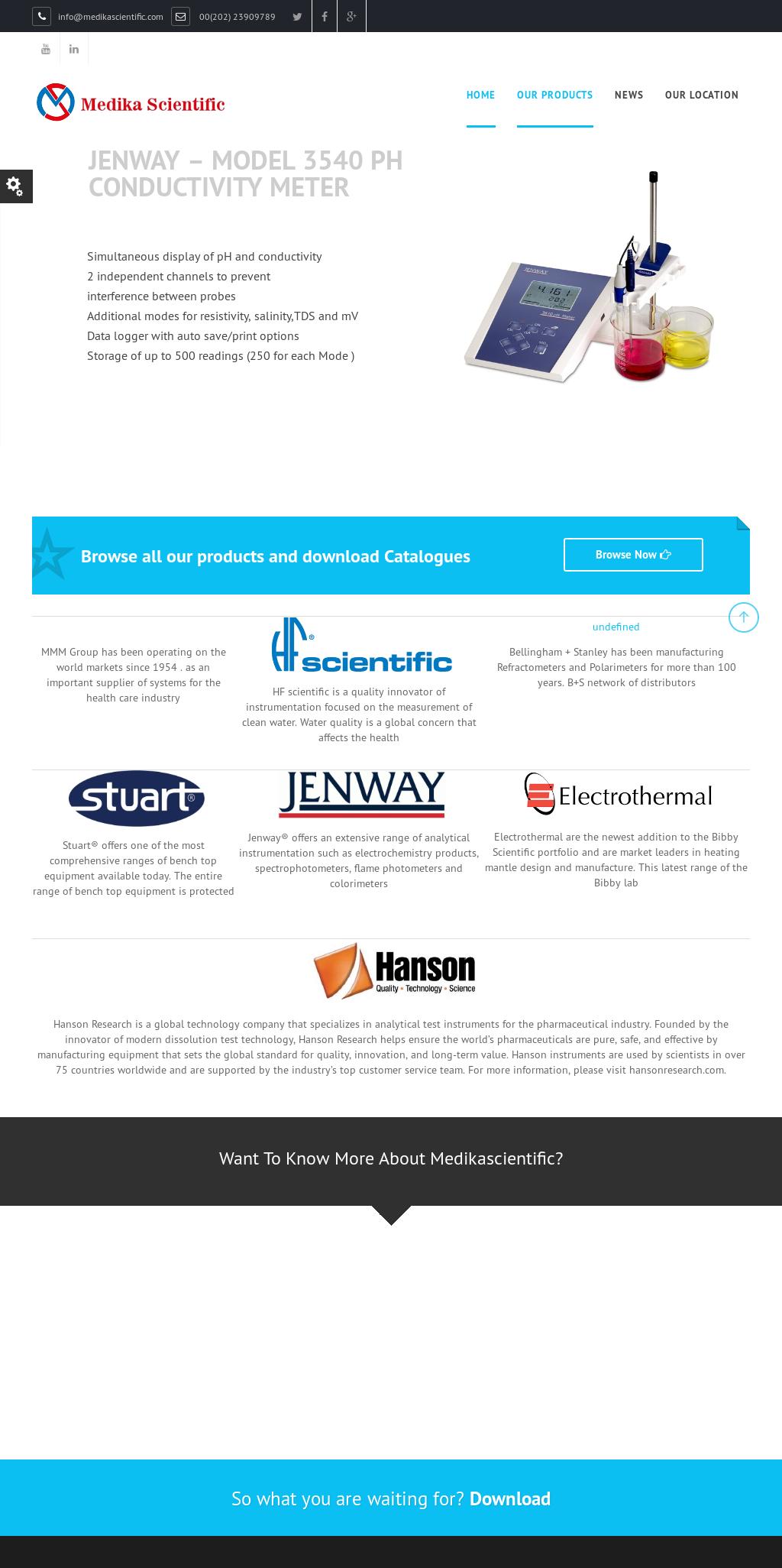 Medika Scientific Competitors, Revenue and Employees - Owler Company