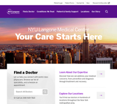 Nyu Langone Medical Center Competitors, Revenue and