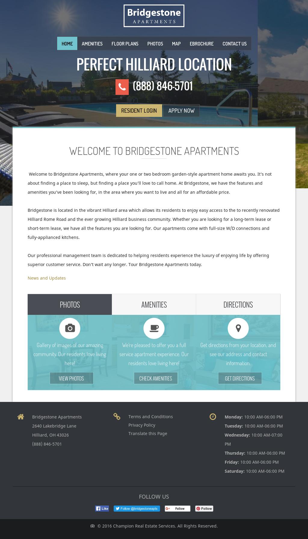 Bridgestone Apartments Competitors, Revenue and Employees