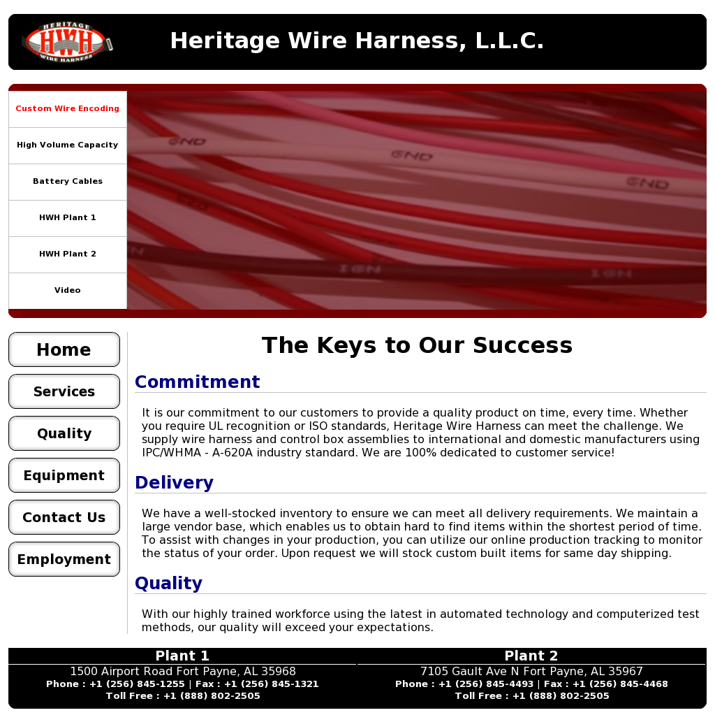 Heritage Wire Harnes Competitors Revenue And Employees Owler