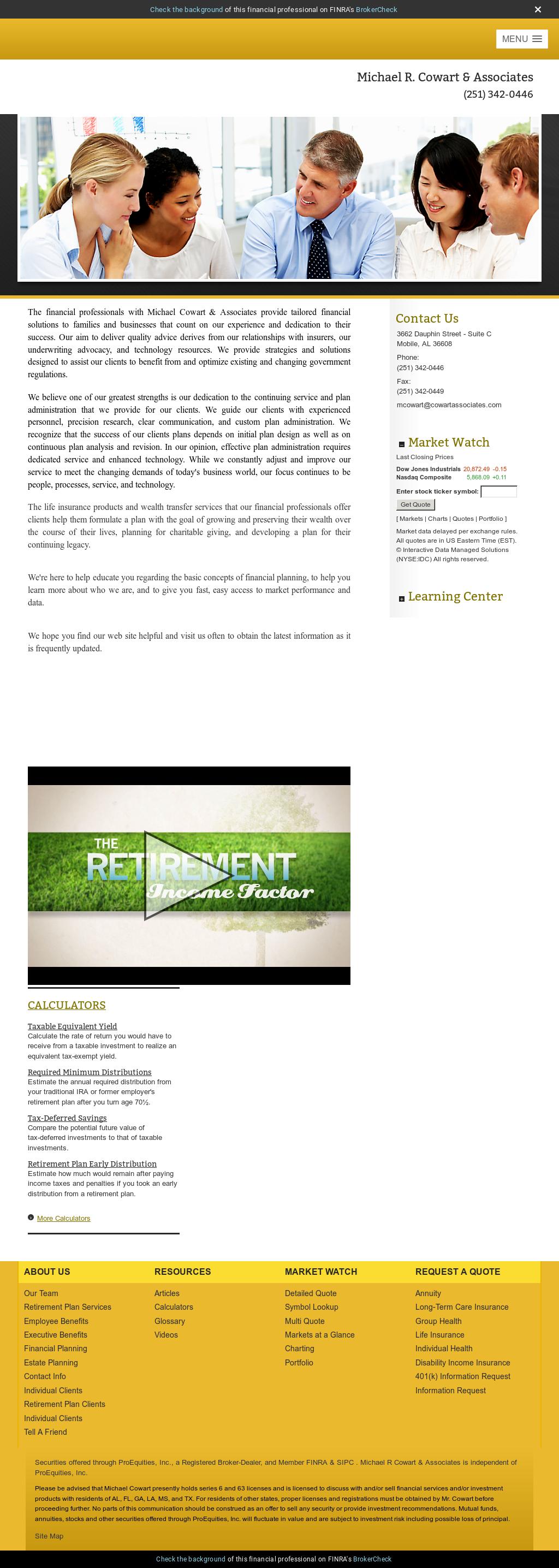 Michael R Cowart Associates Competitors Revenue And Employees
