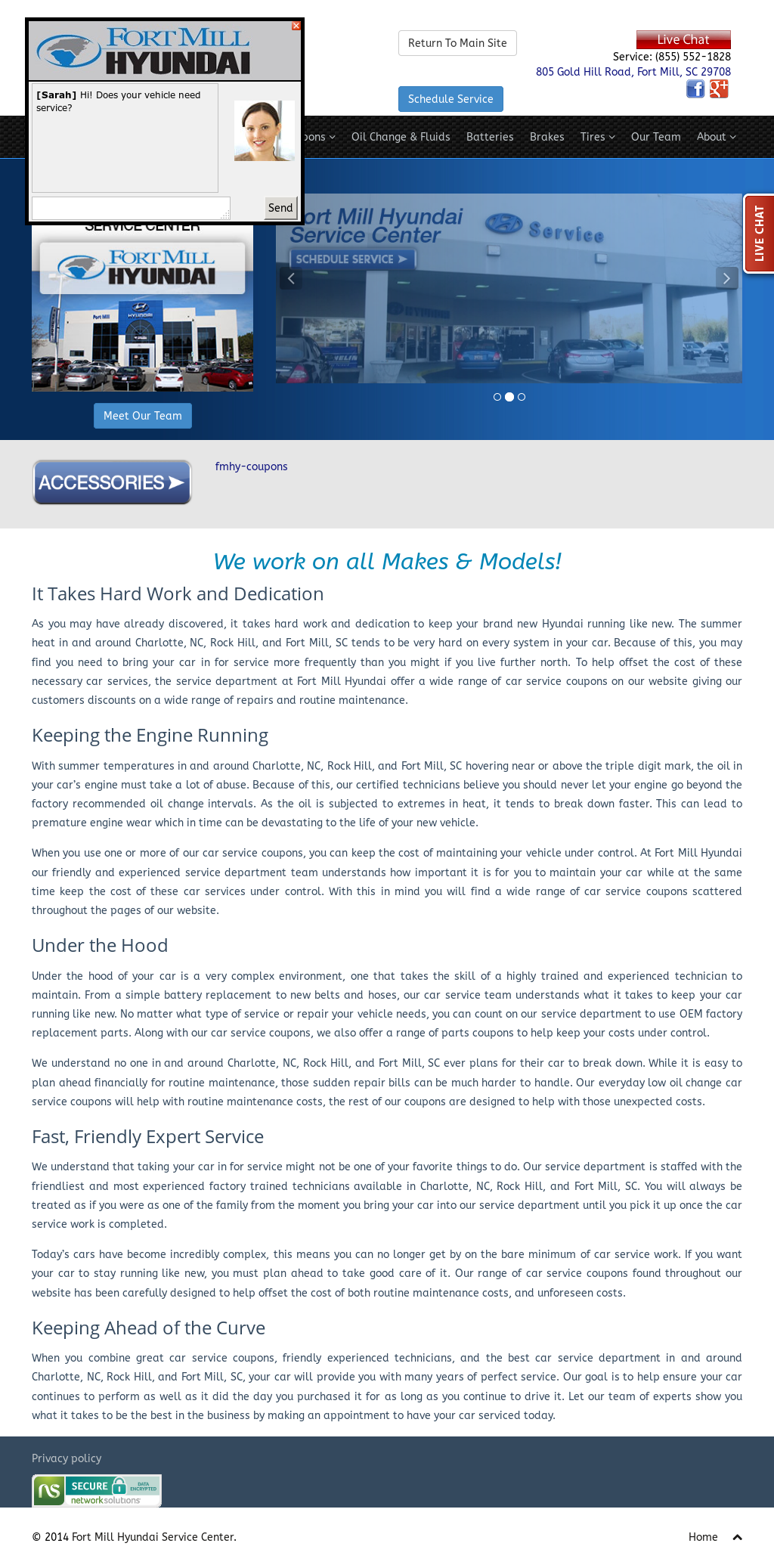 Fort Mill Hyundai Service Center Compeors Revenue And Employees Owler Company Profile