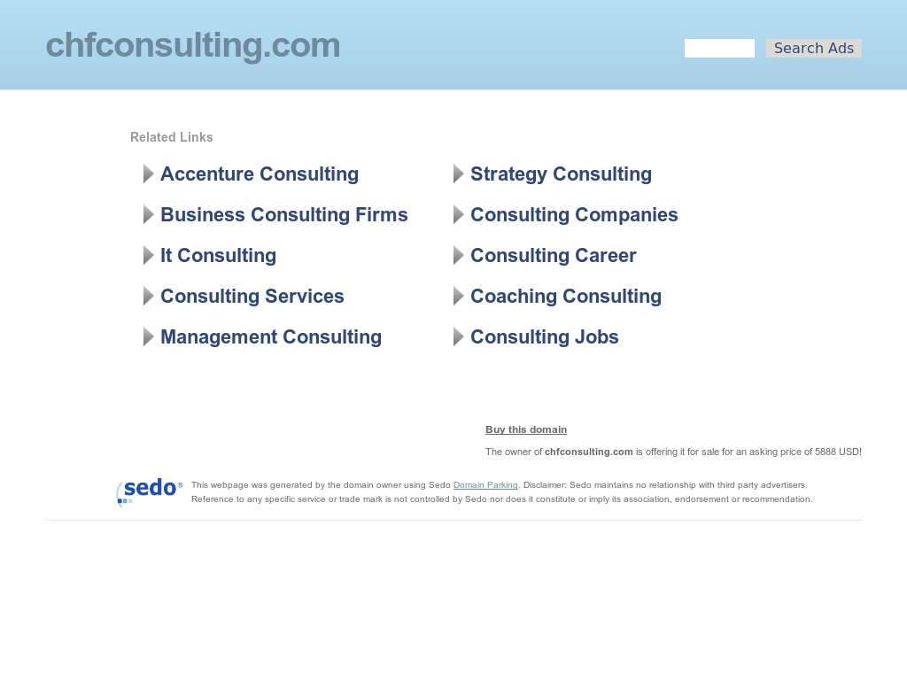 CHF Consulting Competitors, Revenue and Employees - Owler Company