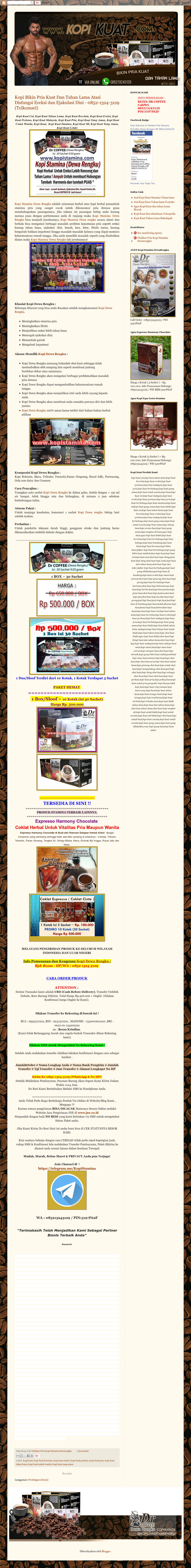 Kopi Kuat Competitors Revenue And Employees Owler Company Profile 1 Box Isi 30 Website History