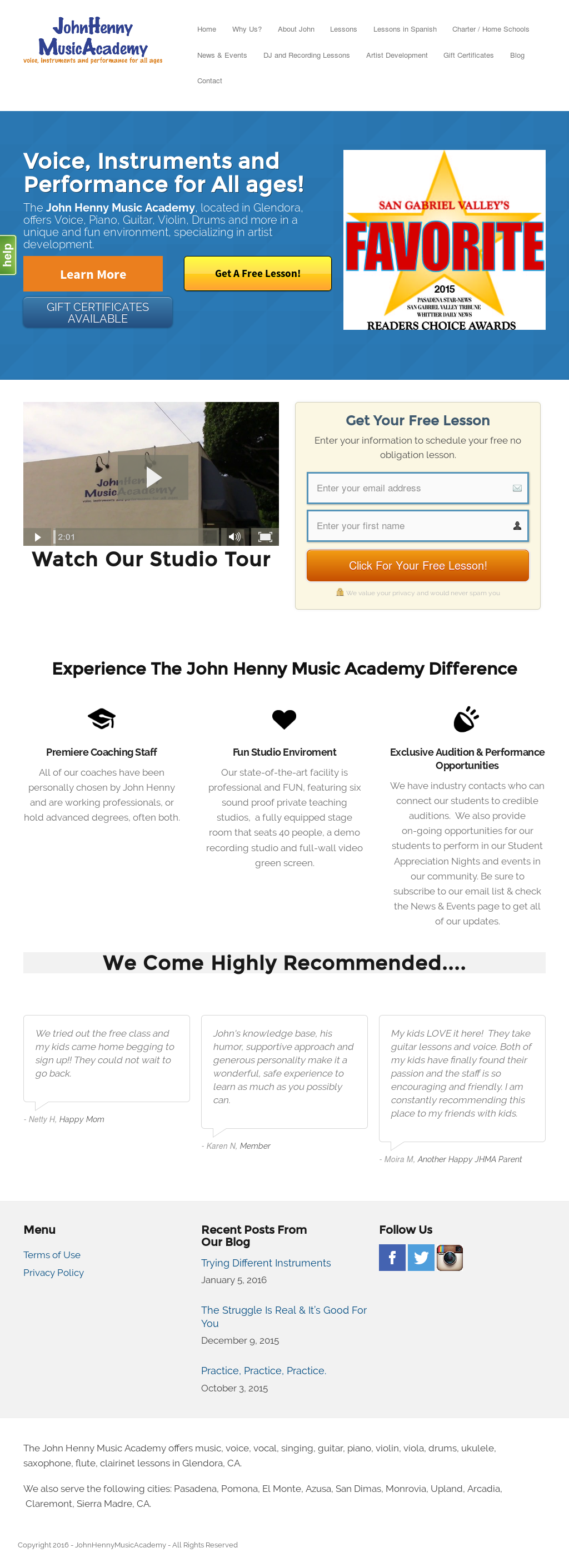 John Henny Music Academy Competitors, Revenue and Employees