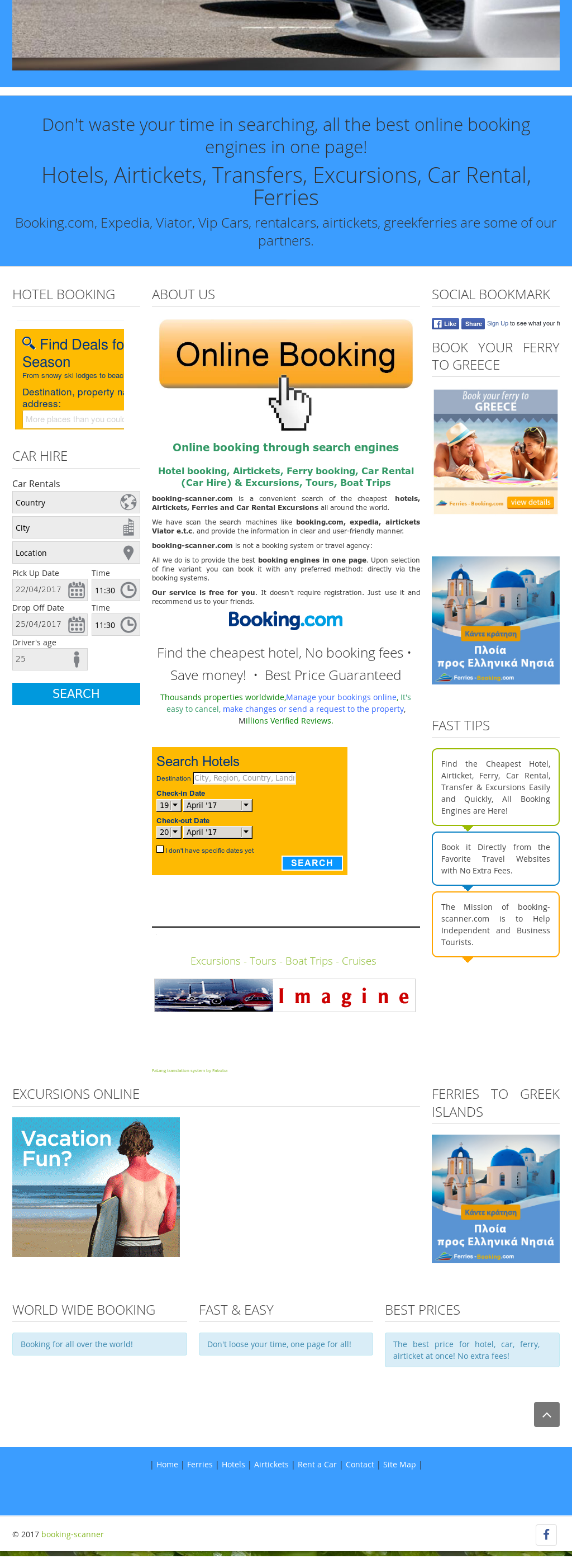 Booking-scanner Competitors, Revenue and Employees - Owler Company
