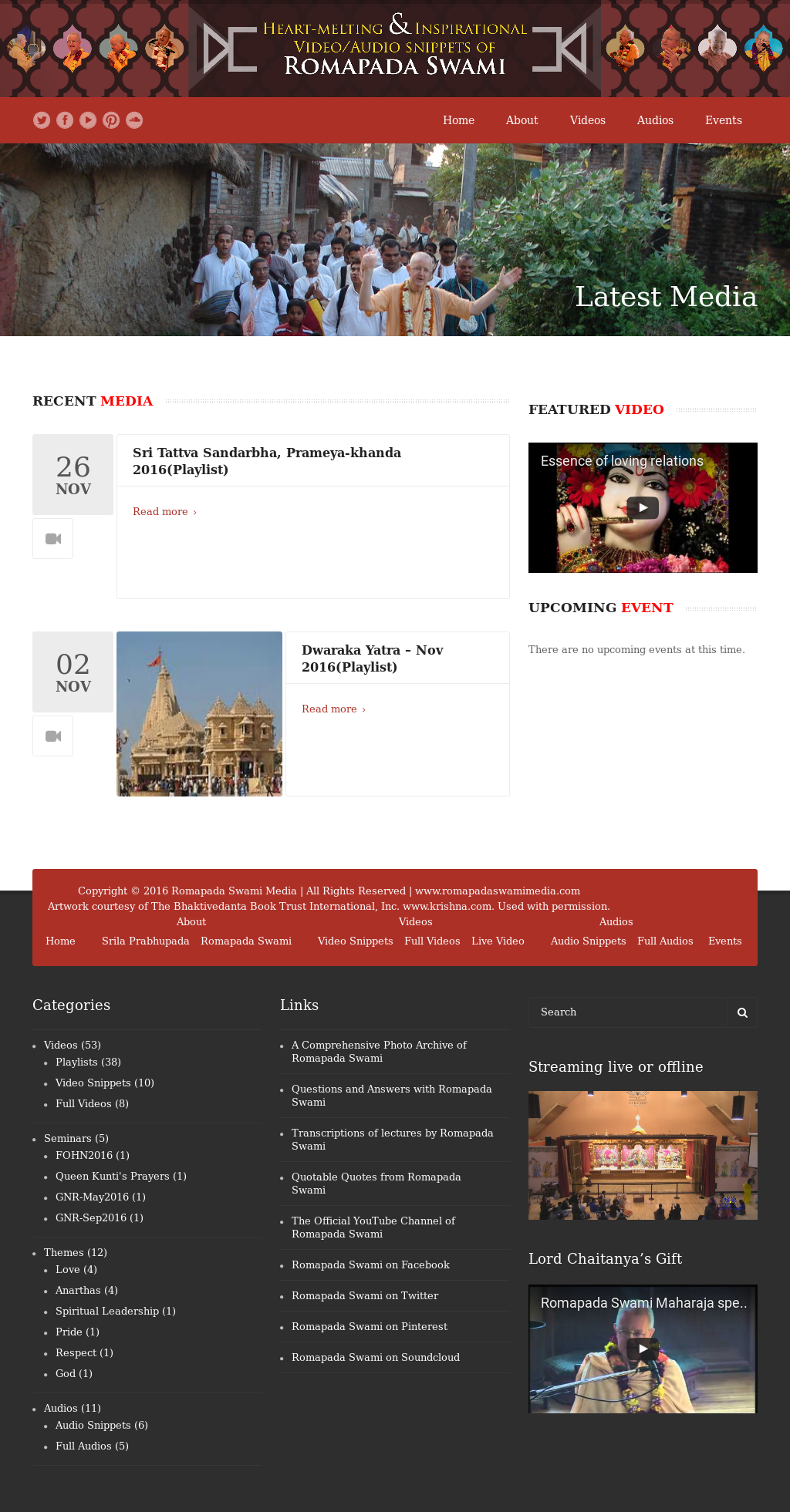 Romapada Swami Media Competitors, Revenue and Employees - Owler