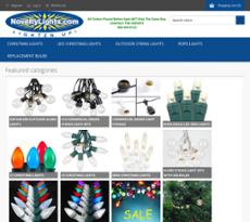 Novelty Lights website history