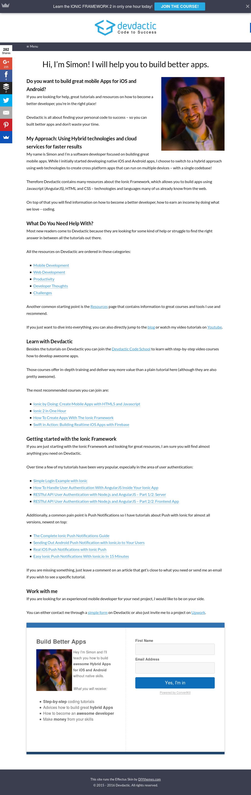 Owler Reports - Devdactic Blog Building a Signature Drawpad