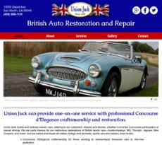 Union Jack website history