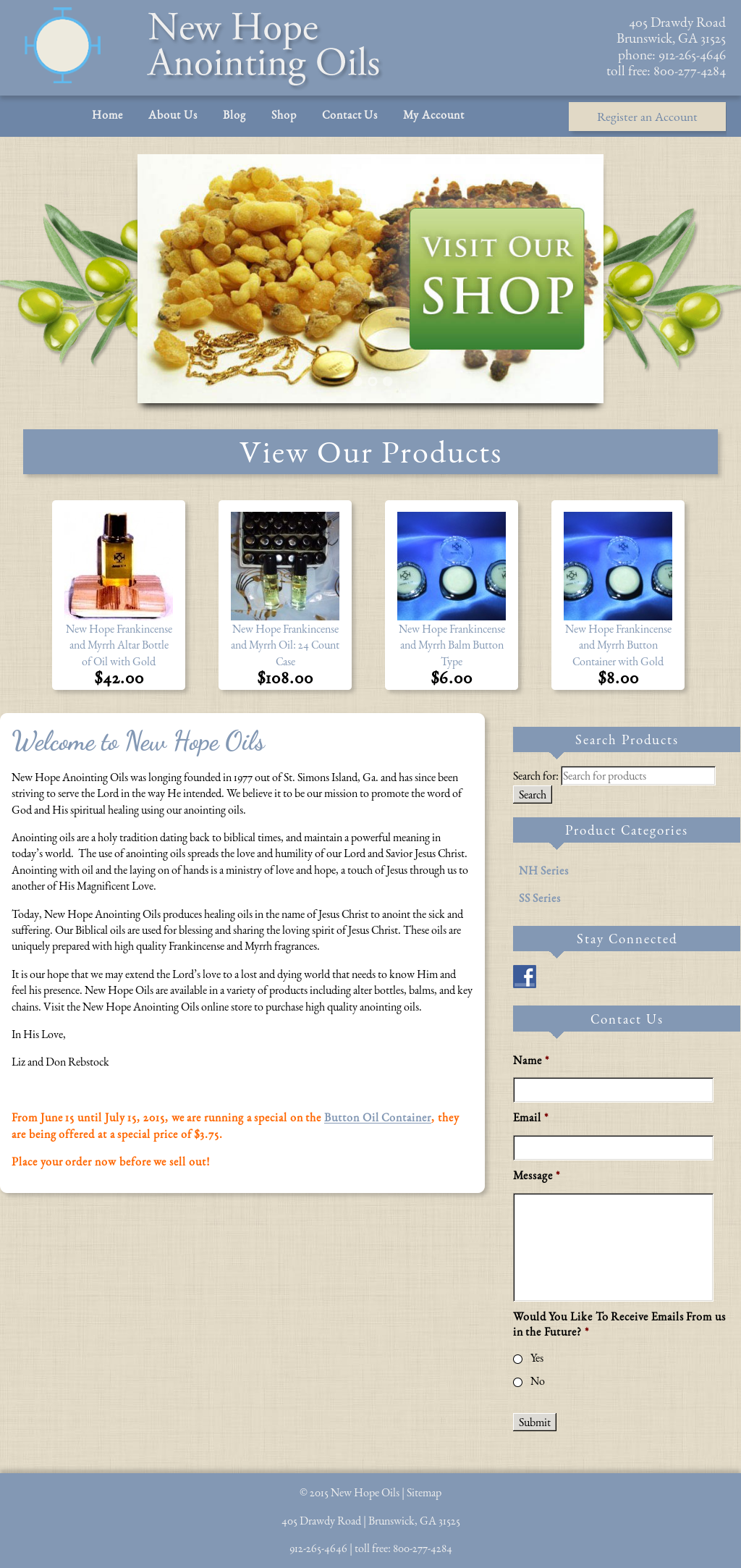 New Hope Anointing Oil Competitors, Revenue and Employees - Owler